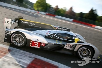 #3 Audi Sport North America Audi R18 TDI: Rinaldo Capello, Tom Kristensen, Allan McNish