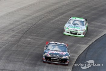 Kevin Harvick, Richard Childress Racing Chevrolet and Dale Earnhardt Jr., Hendrick Motorsports Chevrolet