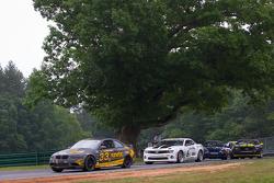 #33 Kinetic Motorsports BMW M3 Coupe: Jade Buford, Bryan Sellers, #6 Mitchum Motorsports Camaro GS.R: Jeff Bucknum, Robert Stout