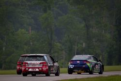 #10 Kinetic Motorsports KIA Forte Koup: Mike Galati, Nic Jonsson, #171 APR Motorsport Volkswagen GTI: Ian Baas, Ryan Ellis