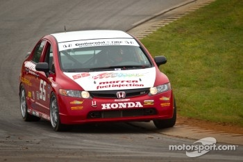 #55 Marren Motor Sports Inc. Honda Civic SI: Kevin Clifford, John Costello