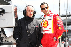 Roger Penske and Helio Castroneves, Team Penske