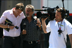 Eddie Jordan, BBC TV