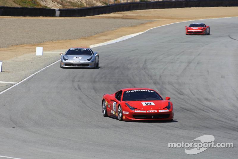 #59 Algar Ferrari Ferrari 458 Challenge: John Farano
