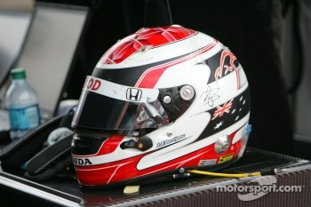 Helmet of Ryan Briscoe, Team Penske