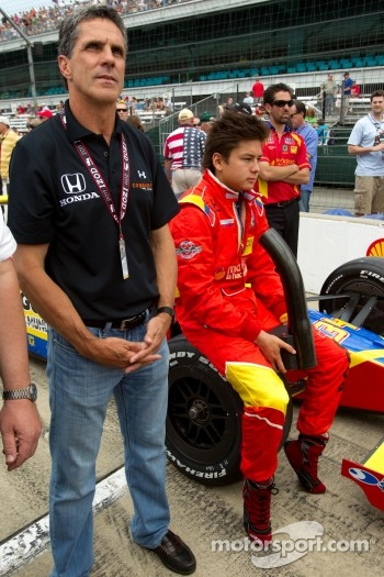 Sebastian Saavedra, Conquest Racing with Roberto Guerrero