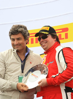 Post-race ceremonies and celebration for 2011 Ferrari Racing Days at Mazda Raceway Laguna Seca