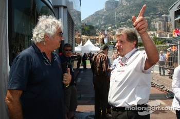 Flavio Briatore, Mercedes, Motorsport chief