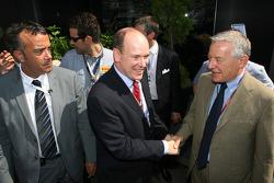 SAS Prince Albert visiting Pirelli people