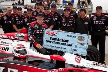 Pit stop challenge: Ryan Briscoe, Team Penske wins the challenge