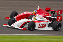Esteban Guerrieri, Sam Schmidt Motorsports and Jorge Goncalvez, Belardi Auto Racing