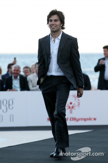 Sergio Perez, Sauber F1 Team, Amber Lounge Fashion