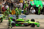 Pit stop for Danica Patrick, Andretti Autosport