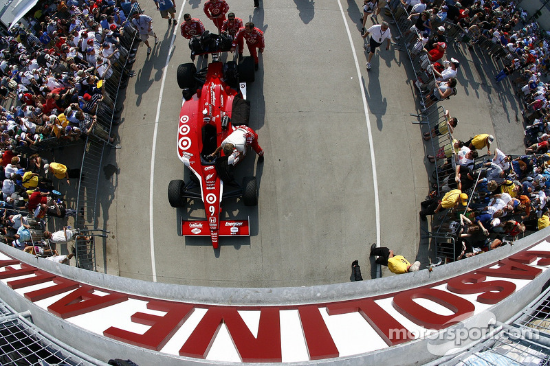 Car of Scott Dixon, Target Chip Ganassi Racing