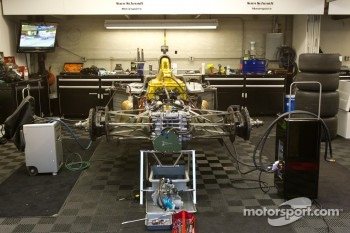 Sam Schmidt Motorsports garage area