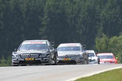 Gary Paffett, Team HWA AMG Mercedes C-Klasse, Bruno Spengler, Team HWA AMG Mercedes C-Klasse