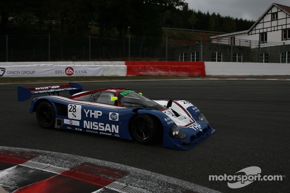 #28 Nissan R90C: Kent Abrahamson