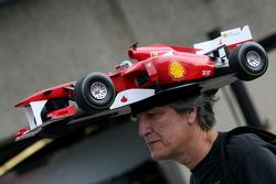 Scuderia Ferrari fan in Canada
