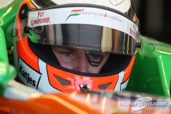 Nico Hulkenberg, Force India F1 Team