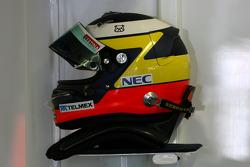 Helmet of Pedro de la Rosa, Sauber F1 Team