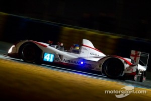 2011 Greaves Motorsport Nissan Zytek on track