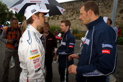 Andy Priaulx and Alexander Wurz