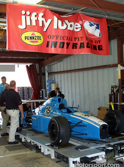 Pre-race inspection for Walker Racing