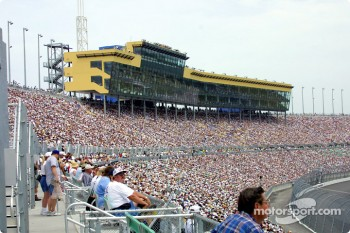 Kansas Speedway grandstands