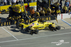 Pitstop for Sam Hornish Jr.