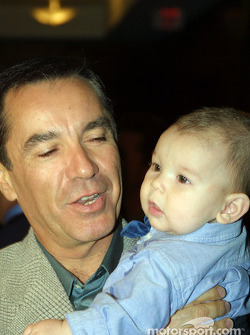 Eliseo Salazar with son, Eliseo VI