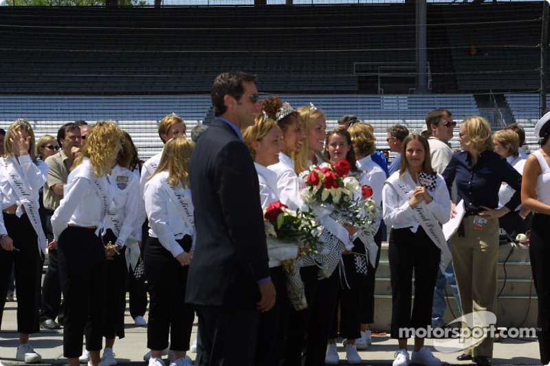 Tony George during opening day for the 86th running of the Indy 500