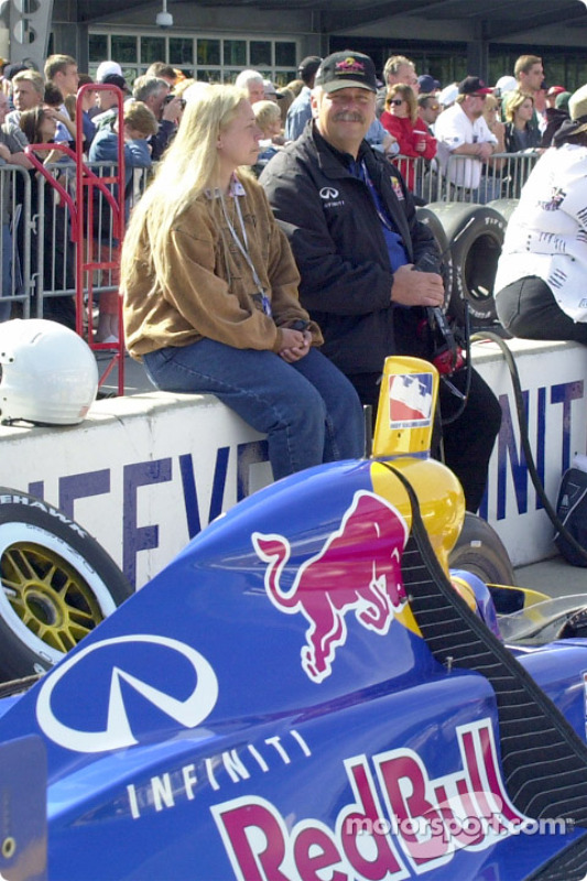 Motorsport.com's Laura and Dave Reininger