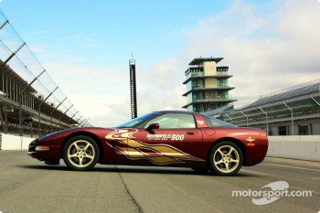 The 2002 Indianapolis 500 Corvette Pace Car