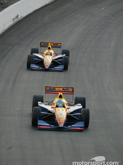 Sarah Fisher and Robbie Buhl