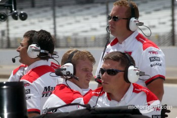 Team Penske crew members