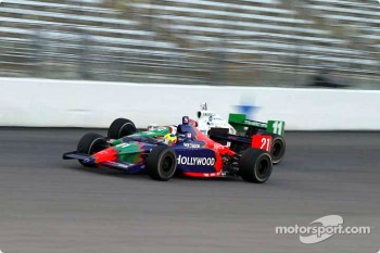 Felipe Giaffone and Tony Kanaan