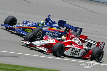 Vitor Meira and Dan Wheldon