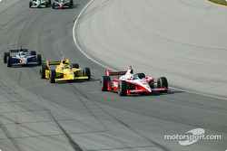 Tomas Scheckter and Sam Hornish Jr.