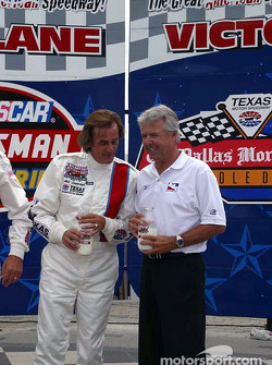 Arie Luyendyk and Rick Mears