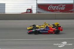 Felipe Giaffone and Sam Hornish Jr.
