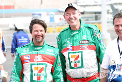 Indy Racing two-seater experience: Michael Andretti and 7-11 CEO Gary Rose