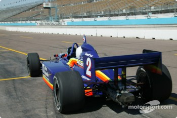 Indy Racing two-seater experience: Arie Luyendyk