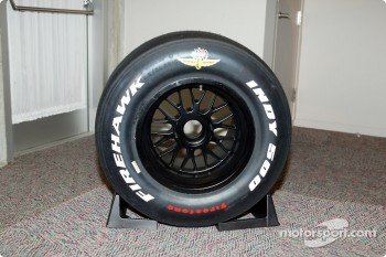 Firestone Firehawk Indy 500 racing tire