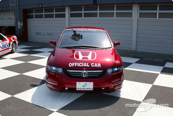 Official vehicle for Indy Japan 300