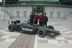 INDYCAR: Newman/Haas announcement: Mark Shamberger, Tim Wardrop, Jim McGee, Bruno Junqueira