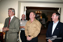 Indianapolis 500 - Washington D.C. visit: Eddie Cheever, Al Unser Jr. and Johnny Rutherford
