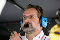 Andy Brown, chief engineer for Panther Racing