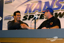 Press conference: Jeff Simmons and Townsend Bell