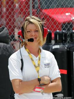 Kansas Speedway security team member