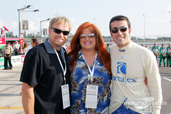 Dario Franchitti with sister-in-law Wynonna
